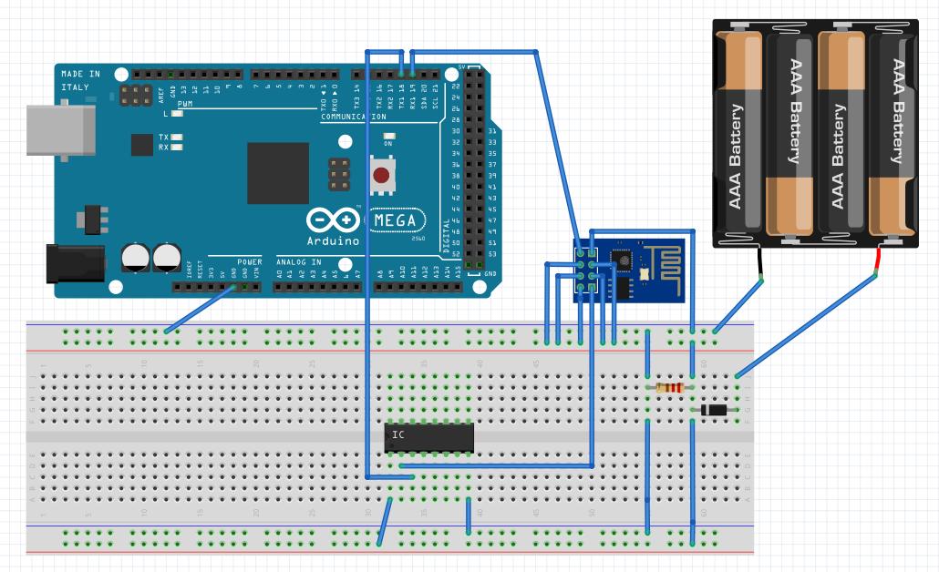 Connecting your Arduino to WiFi via an ESP-8266 module